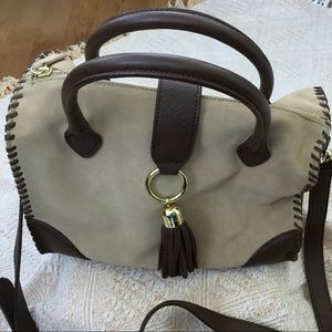 Talbots Leather and Suede Bag NWOT